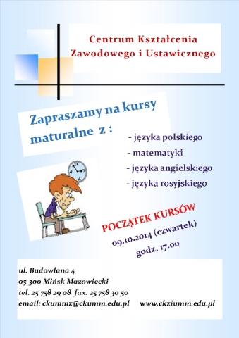 ulotka_kursy_maturalne