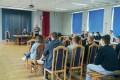 Spotkanie dyrekcji Centrum ze Słuchaczami