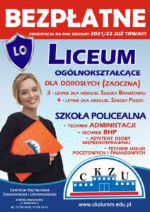 Liceum Ogólnokształcące i Szkoła Policealna dla Dorosłych