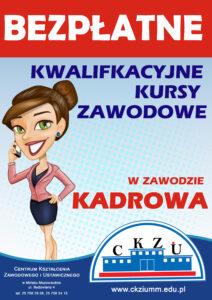 Kwalifikacyjne Kursy Zawodowe - Kadrowa