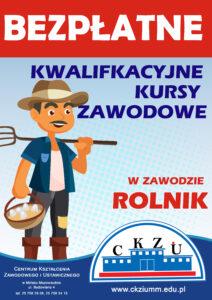 Kwalifikacyjne Kursy Zawodowe - Rolnik
